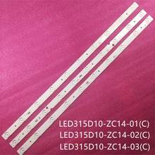 Original e novo led luz de fundo 10 lâmpada para LED315D10-ZC14 le32d8810 le32d8810 ld32u3100 le32f3000w LED315D10-ZC14-01 (d) le32te5