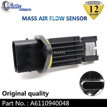 XUAN MAF MASS AIR FLOW METER SENSOR 0281002281 For MERCEDES-BENZ W210 W203 CL203 S203 C209 S210 W463 W163 W220