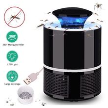 Mosquito Killer USB Electric Lamp Photocatalysis Mute Home LED Bug Zapper Insect Trap Radiationless