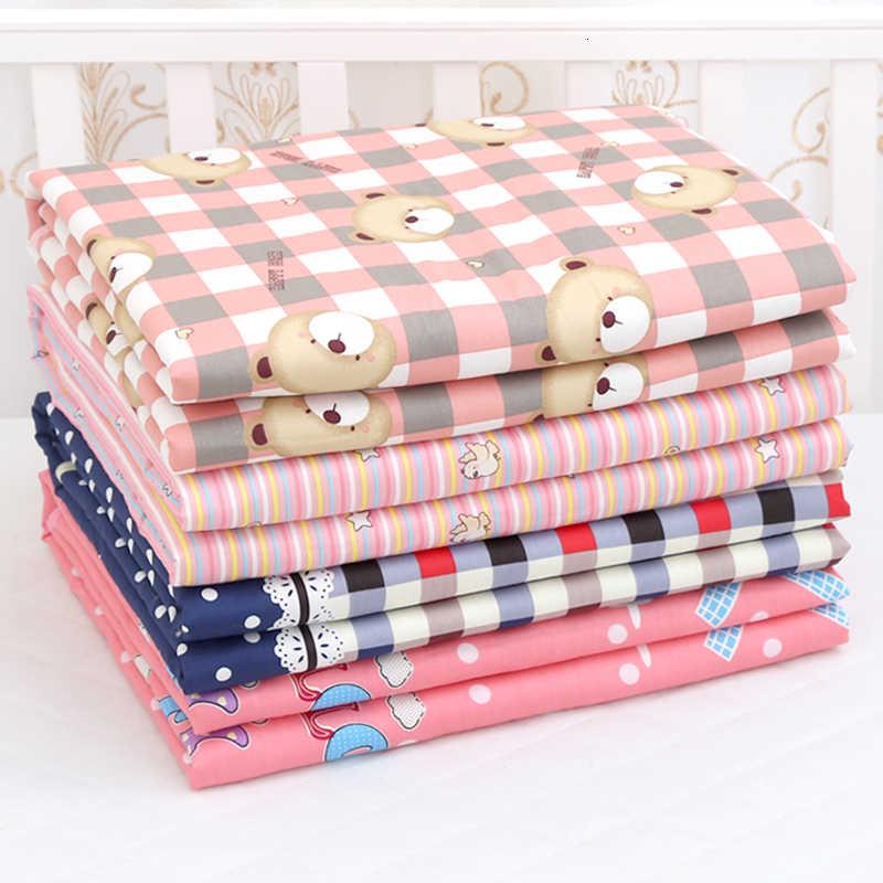 3 nuevos tamaños bebé impermeable hoja de orina que cambia almohadillas almohadilla de orina de dibujos animados reutilizable infantil ropa de cama pañal eructo colchón cambiador de estera