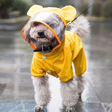 Dog Underwear Perro Pets-Clothes Puppy Waterproof Four Gogo Raincoat Foot-Poncho Poodle