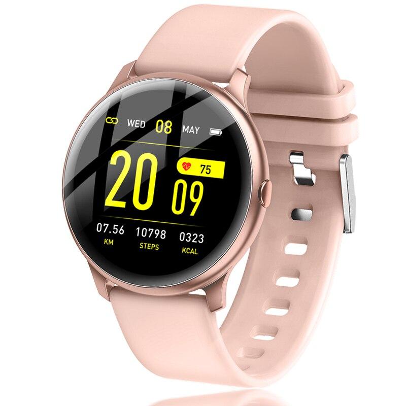 ליגע 2019 חדש צבע מסך עמיד למים נשים חכם שעון גברים קצב לב לחץ דם ניטור Smartwatch relogio inteligente