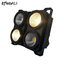Combinatie 4x100W 4 Ogen LED Blinder Licht COB Cool/Warm Wit LED High Power Professionele Stage verlichting Voor Party Dance Floor