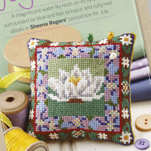 Pin Neddle-Cushion Cross-Stitch Needlework Biscornu Embroidery-Set Counted 18CT 21 Diy-Kit