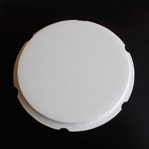 Image 5 - ラウンドケーキボックスクリア円筒パターン透明tårtask花ギフト防塵展示収納ボックス