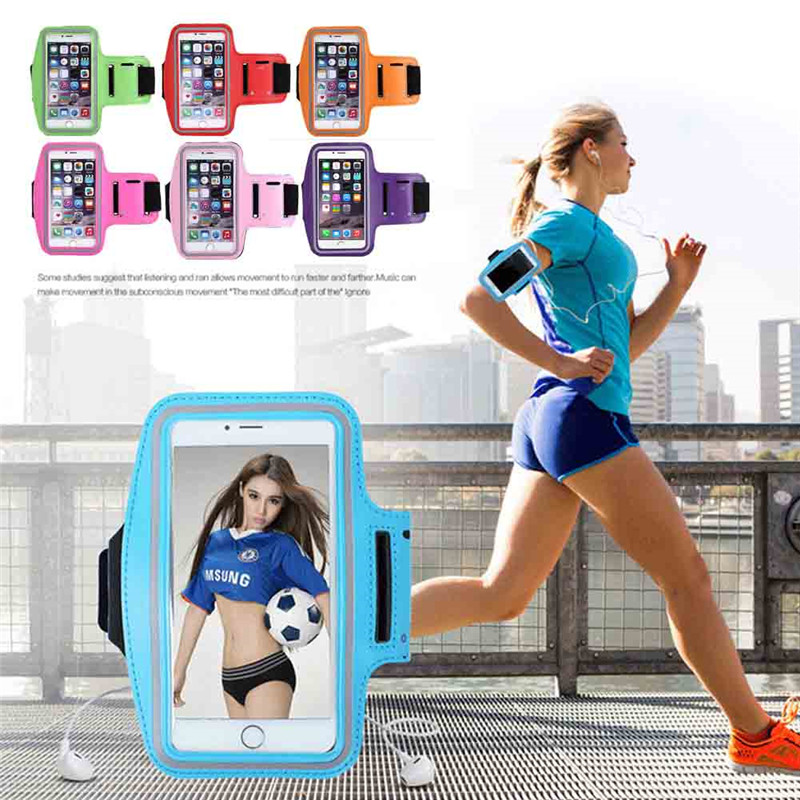 Hot Selling Sports Arm Band Gym Waist Pouch Runners Bum Bag & Jogging Phone Holder 6s Plus/7 Plus 10 Colors