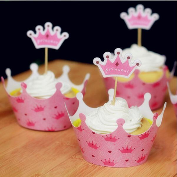 Princesa Cupcake Toppers//selecciones X 24 Taza De Decoración Pastel Fiesta Niños Disney