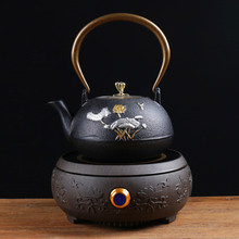 цена на Japanese style Health teapot tea set home cast iron pot electric ceramic stove Boiled water kettle office kung fu furnace