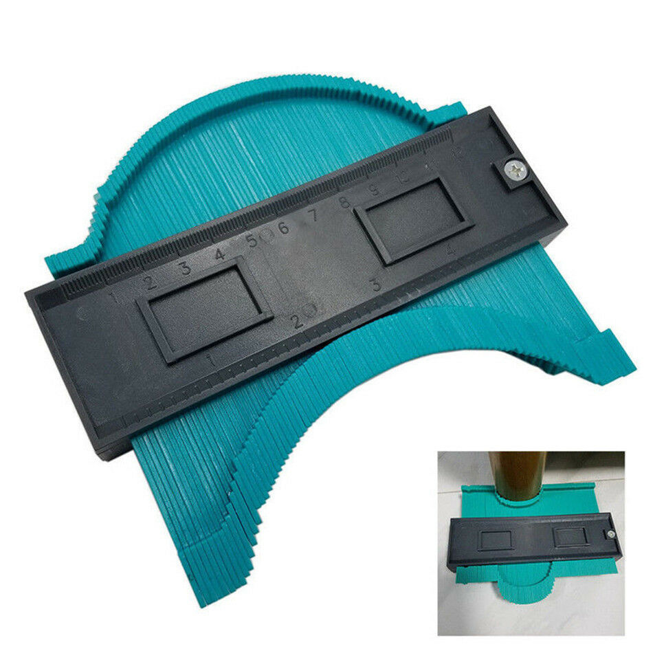 5 Inch Contour Gauge Angle Meter Ruler Measurment Contour Duplication Gauge Carpenter Tool Templates For Wood Contour Shape Meas