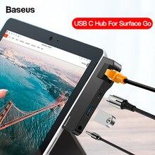 Baseus USB C HUB to HDMI USB 3.0 RJ45 Type C HUB For Surface