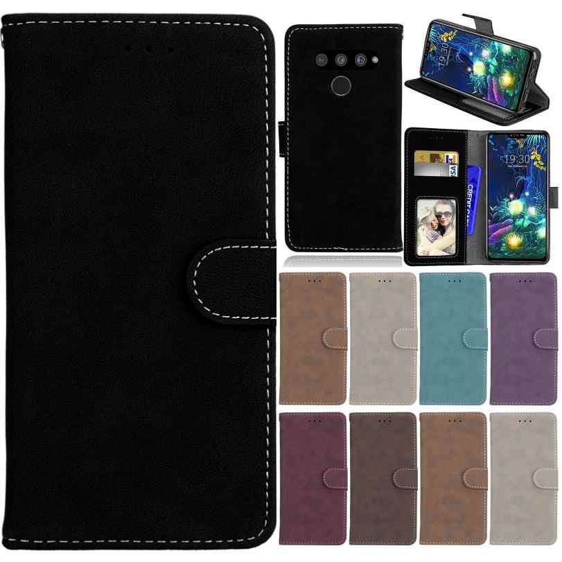 Man Leather Case For Bag LG Stylo 4 5 V40 V50 K40 K9 K11 K12 Plus K8 K10 2018 K3 2017 Matte Flip Funda K5 K7 K8 G5 G6 G7 G8 P08H