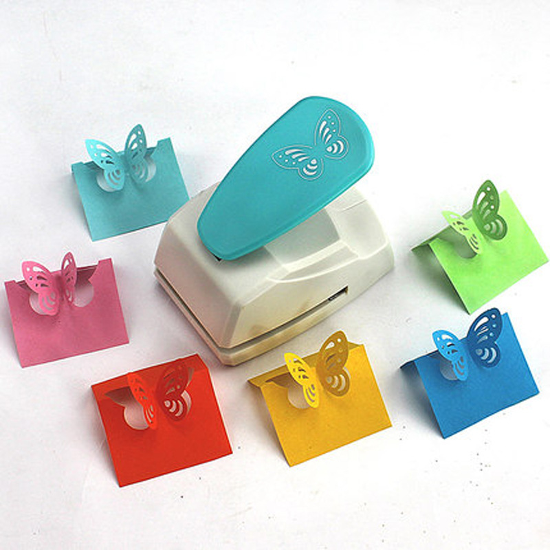[Plot 4.4-4. 7 Centimeter] Extra Large Hollow Out Butterfly DIY Effortless Type Ya Hua Qi Craft Punch Embossing Machine