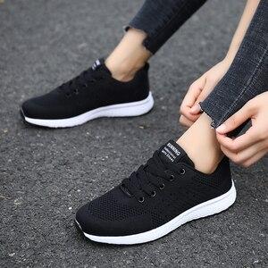 Image 3 - Tenis Feminino אישה טניס נעלי 2019 מכירה לוהטת ספורט נעלי נשי יציבות ספורט כושר כושר גרב נעל מאמני