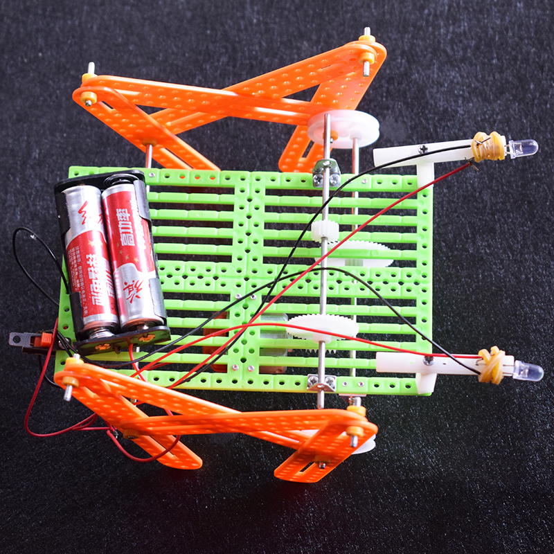 DIY Quadruped Robot/scientific Physics Experimental Educational Toys/technology Production/puzzle/baby Toys For Children