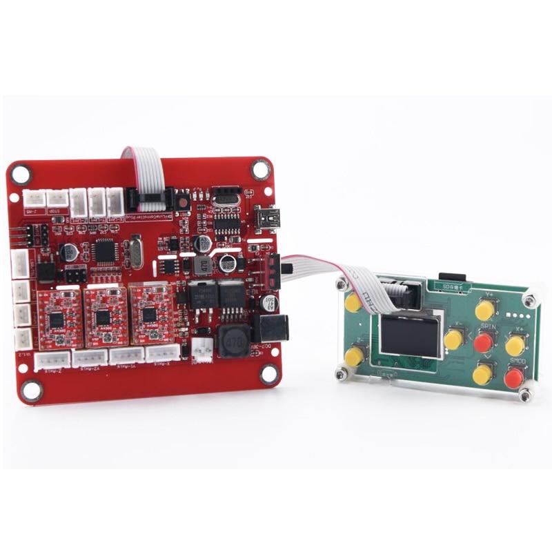 CNC 3018 PRO ER11 lézergravírozó Pcb marógép CNC router cnc3018 - Famegmunkáló berendezések - Fénykép 6