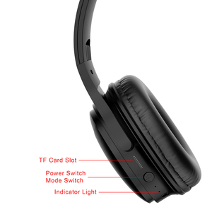Image 5 - H1 אלחוטי משחקי אוזניות Bluetooth V5.0 HD HIFI סטריאו הפחתת רעש אוזניות עם כרטיס TF חריץ עבור IOS אנדרואיד טלפונים