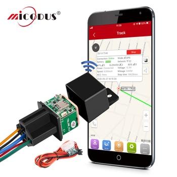 MiCODUS Relay GPS Tracker Car MV730 9-90V Cut Off Fuel ACC Detect Mini GPS Tracker For Car Realtime Track Vibrate Alert FREE APP 1