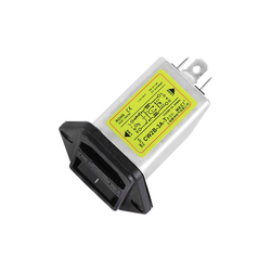 EMI AC 115V 230V purification anti-interference double fuse CW2B-1A/3A/6A/10A-T2(D3) power supply filter