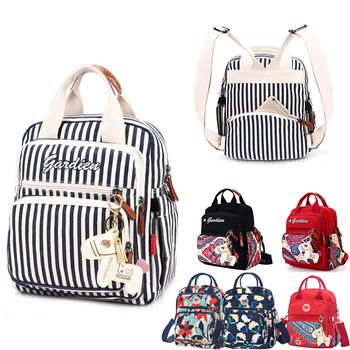Diaper Bag Mommy Backpack Waterproof Large Capacity Stroller Diaper Organizer Mummy Maternity Bags Baby Nappy Bag