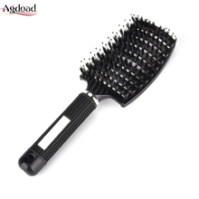 Ribs Big Bent Comb Hairbrush Women Massage Hair Care Styling Hair Combs Health Care