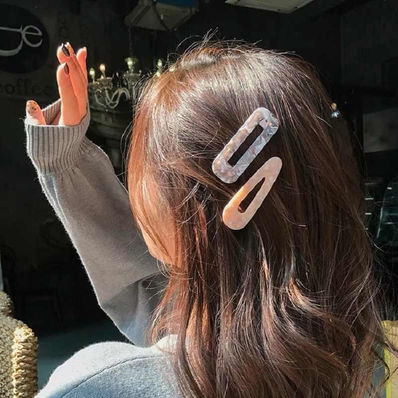 Baru Fashion Leopard Rambut Klip Untuk Wanita Wanita Vintage Asam Asetat Ikat Rambut Jepit Rambut Jepit Bobby Pin Sisir Rambut Aksesoris