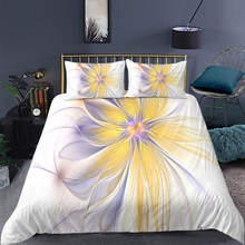 Household four seasons bedding suit soft and comfortable high grade down quilt cover pillow case