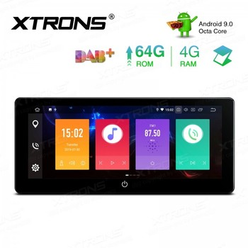 10.25'' IPS Android 9.0 Octa Core 4G+64GB Universal 2 Din PX5 4G RAM 64GB ROM Car multimedia Stereo Radio Player GPS Navigation
