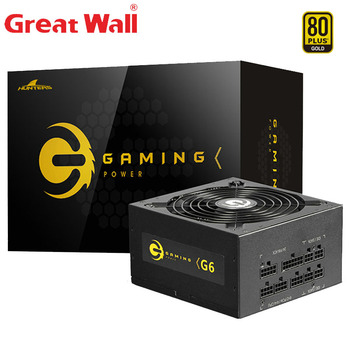 Great Wall Power Supply 650W PSU ATX 12V Computer Power Supplies for PC 140mm Mute Fan E-sport 80PLUS GOLD Computer Power Supply цена 2017
