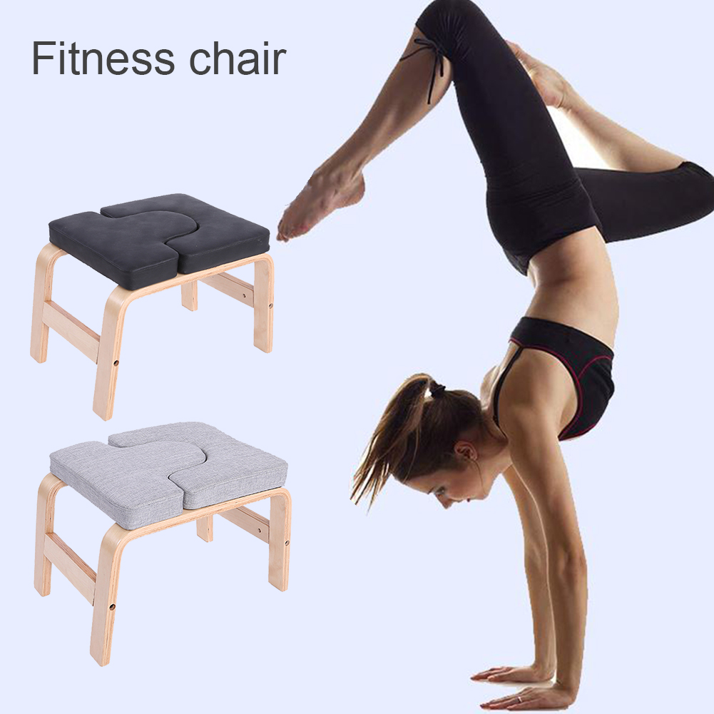 Yoga Inversion Chair Home Yoga Stool Yoga Fitness Accessories Headstand Bench Chair Stool Handstand Pu Sponge Mat Yoga Stool Accessories Aliexpress