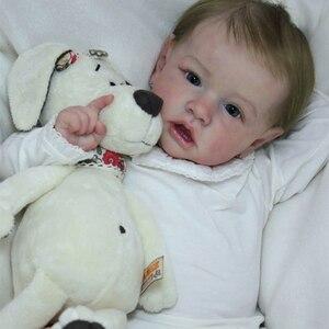 DIY baby reborn kit, неокрашенный mocel reborn baby Mold, силиконовый bebe reborn kit, аксессуары для кукол