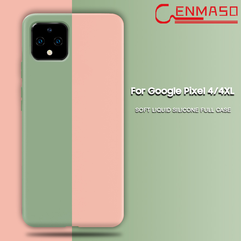 Capa For Google Pixel 4 Case Ultra Thin Pure Soft Liquid Silicon Cover Case For Google Pixel 4XL 4 XL Case Shockproof Fundas