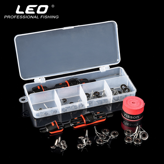 Lure Accessories Set DIY Fishing Reel Wheel Seat Rod Clip With Sweat Belt And Guide Ring 3