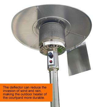 Grzejnik tarasowy dziedziniec reflektor tarcza zewnętrzne grzejniki do Patio propan i gaz ziemny grzejnik dziedzińca reflektor tanie i dobre opinie CN (pochodzenie) Other patio heater windscreen Na stanie