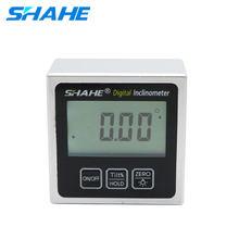 SHAHE haute précision électronique goniomètre inclinomètre numérique niveau Angle trouveur Angle boîte de mesure