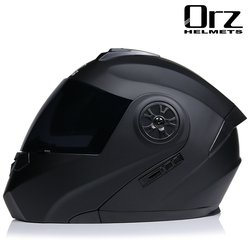 Motorcycle Helmet Full Face Racing Motorbike Helmet With Double Sun Visor Women Man Flip Up Moto Helmets