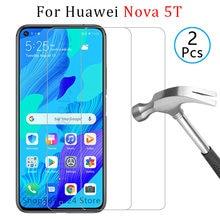 Чехол для huawei nova 5 t чехол из закаленного стекла nova5t