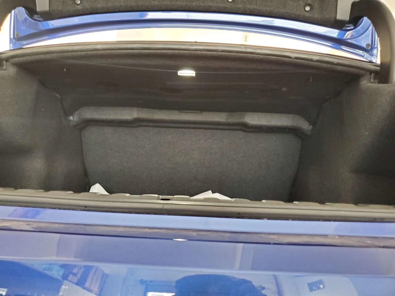 Pour BMW série 3 2020 coffre isolation thermique acoustique coton coffre de voiture pare feu tapis couverture antichoc insonorisation amortissement - 3