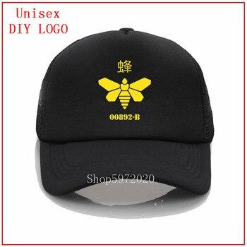 Bee Breaking bad fashion caps für frauen Gorras Kappe männer hüte baseball frauen baseball-cap snapback hüte für männer Custom drucken