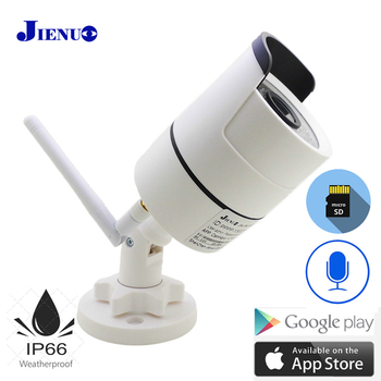 JIENUO Home Ip Camera Wifi 720P 960P 1080P HD Cctv Security Surveillance Outdoor Waterproof Cam Infrared Audio Wireless Camera jienuo home camera wifi ip 1080p 720p audio dome cctv security hd surveillance indoor wireless infrared night vision monitor cam