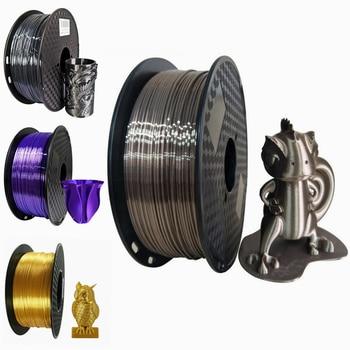 Silk PLA Filament Rose gold 1.75mm 1kg 3D Printer Filament Silky Shine 3D Pen Printing Materials Shiny Metallic PLA Filament