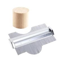 125mm/5inch Profile Copy Measuring Contour Gauge Metal Tiling Template Tiles Edge Measure Ruler