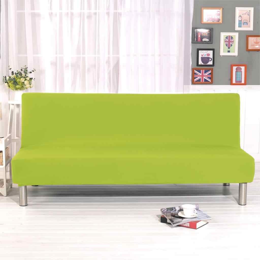 Armless Sofa Bed Cover Folding Modern