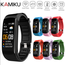 Фитнес-браслет Ip67 водонепроницаемый спортивный фитнес-трекер артериальное давление пульсометр Шагомер Смарт-браслет часы для Android IOS
