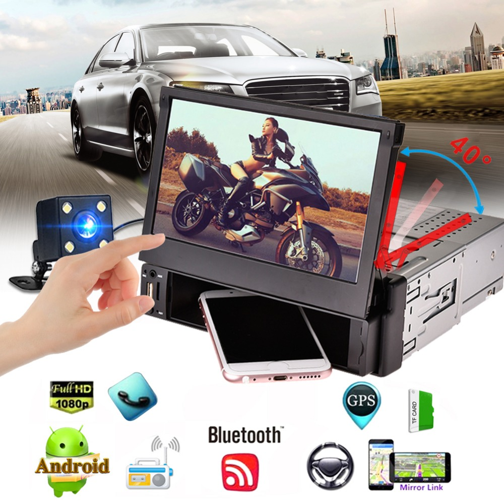 Android 5.1 Bluetooth Car MP5 Multimedia Player GPS Navigation 7 inch HD Touch Screen Mobile Phone Interconnection TF FM TDA7786|Car Radios| |  - title=