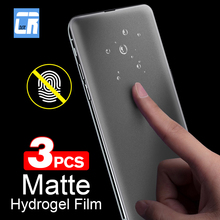 1-3PCS No Fingerprint Matte Hydrogel Film for Xiaomi Redmi Note 9S 8 7 5 K20 Pro K30 4X GO 8A Frosted Screen Protector Not Glass