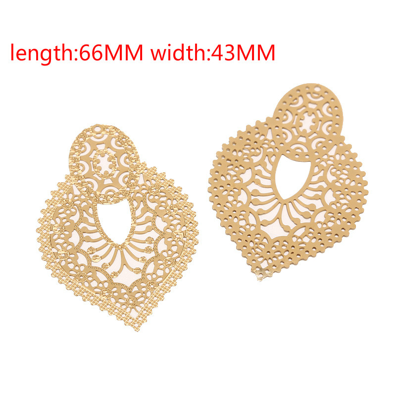 4pcs stainless steel Earring Chandelier Connectors Charms Findings Jewelry Making for Earring Drop and Charm Pendant Components