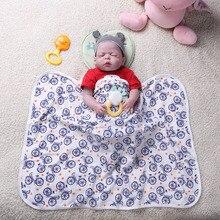 Многофункциональное детское одеяло, Мягкое хлопковое одеяло для новорожденных, пеленка для детской коляски, детское одеяло, велосипедная пеленка для сна