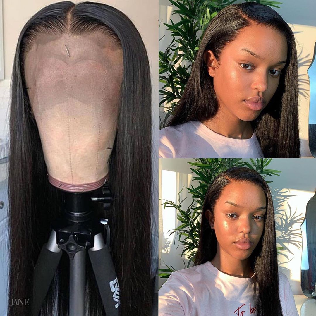 Full Lace  Wigs 360 Full Lace Wig  Pre Plucked Hd Lace Frontal Wig  Straight Lace Front Wig 4