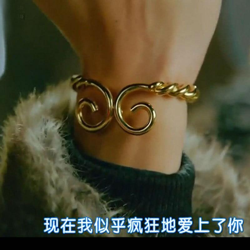 Korean TV Hwayugi Bracelet Cosplay Monkey King Bangle Lee Seung Gi Unisex Alloy Ring Osplay Costume Accessories