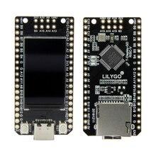 LILYGO®Ttgo T Display GD32 gd32vf103cbt6 chip principal st7789 1.14 Polegada ips 240x135 definição placa de desenvolvimento minimalista